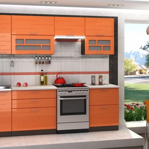 """Модульная кухня """"Техно"""" 2,6 м"""