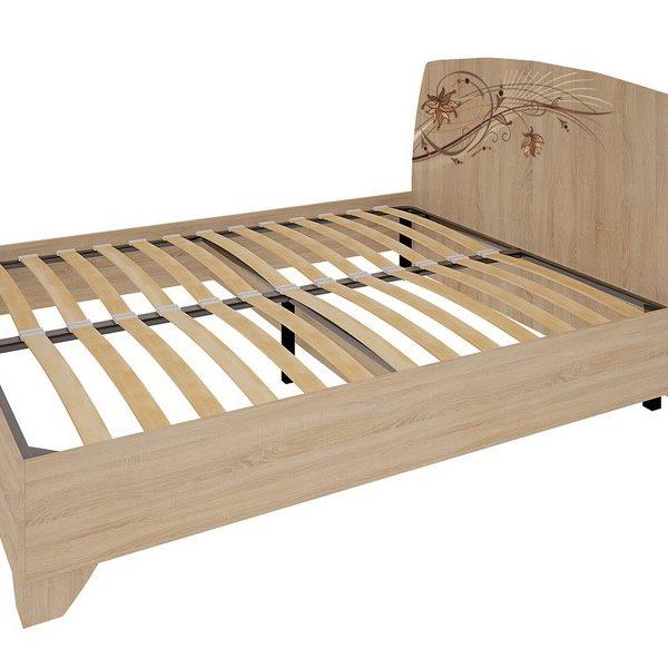 """Кровать двухспальная """"Виктория-1"""" 1,4/1,6 м"""