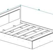 Кровать КР-15 схема