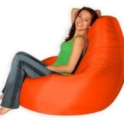 "Кресло-мешок Бин-Бэг ""Сижу"" оранжевый"