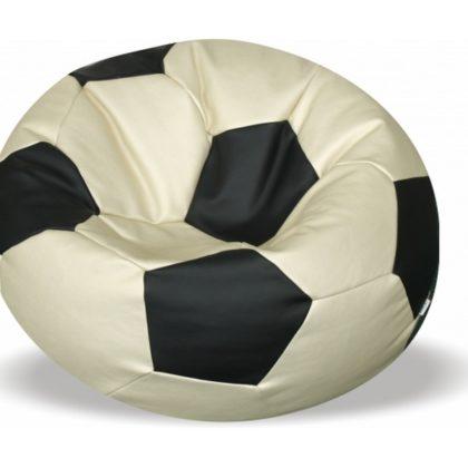 """Кресло-мяч """"Футбол"""", иск.кожа"""
