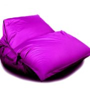 Кресло-подушка-трансформер с ремнями (нейлон) фиолетовый