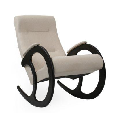 """Кресло-качалка """"Dondolo-3"""" (венге/молочный)"""