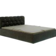 """Кровать """"Калипсо"""" 1,6 м (коричневый)_стазы"""
