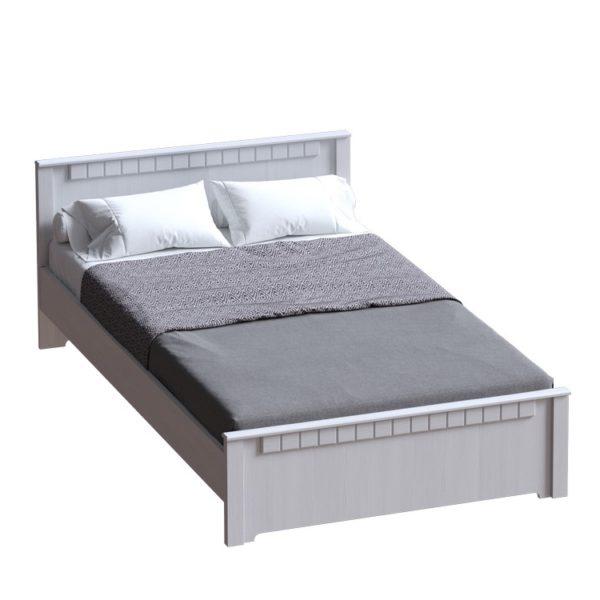 """Кровать 1800 """"Прованс"""" (бодега белая/платина премиум)"""