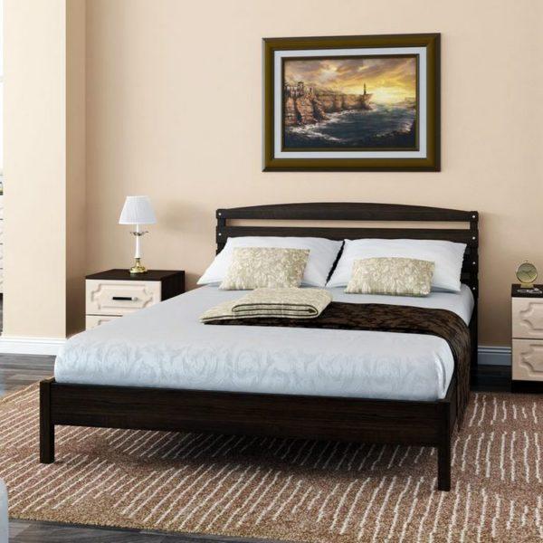 """Кровать """"Камелия-1"""" венге"""