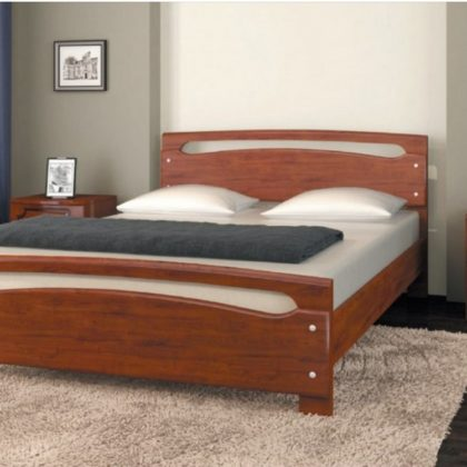 "Кровать ""Камелия-1"" вишня"