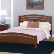 """Кровать """"Камелия-3"""" орех"""