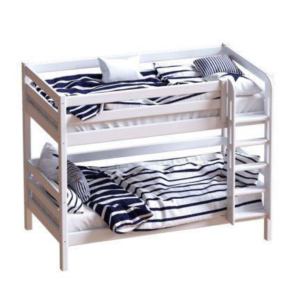 """Кровать двухъярусная с прямой лестницей """"Авалон"""""""