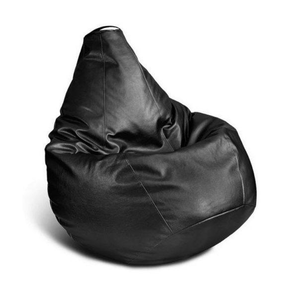 Кресло-мешок (иск. кожа) черный