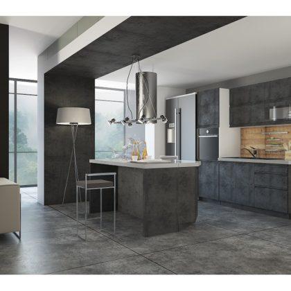 "Модульная кухня ""Бронкс"" (бетон)"