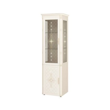 "Шкаф-витрина (сервант) с колоннами лев/прав ""Венеция"" 32.08"