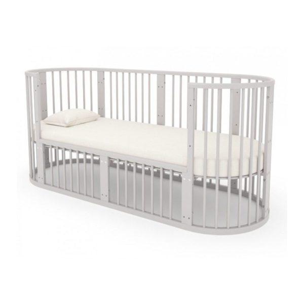Дополнительная секция для овальной кроватки Облако