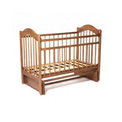 Кроватка детская из дерева арт.403 сандал