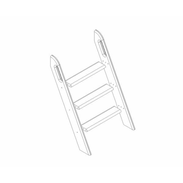 """Пакет №14 Наклонная лестница для низкой кровати """"Соня"""""""