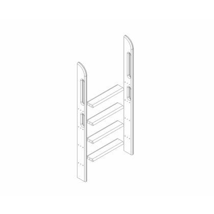 """Пакет №7 Прямая лестница для полувысокой кровати """"Соня"""""""