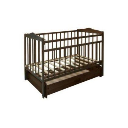 """Кроватка детская из дерева """"Кроха-3"""" венге"""