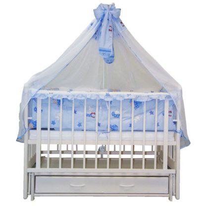 """Кроватка детская из дерева """"Сказка"""" арт.503"""