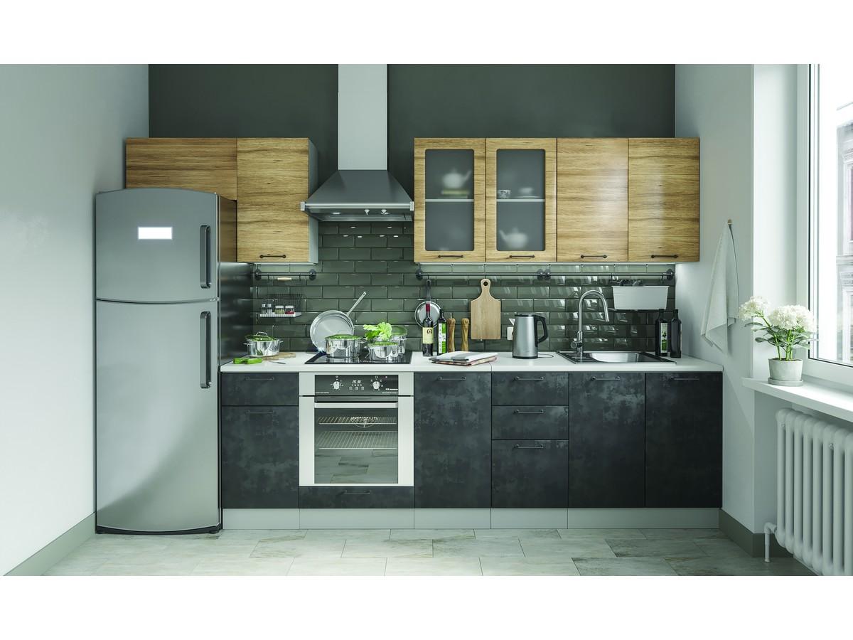 Кухня темный бетон купить бетон оформить