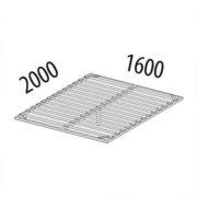 Основание кровати на металлическом каркасе ОК1 (ширина 160 см) схема