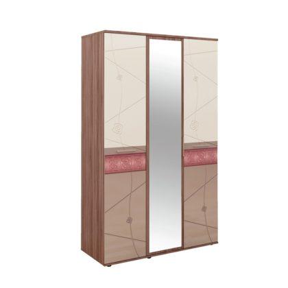 """Шкаф трехдверный с зеркалом """"Розали"""" 96.12"""