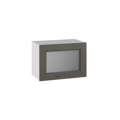 Капри ПГС 500 Шкаф верхний горизонтальный со стеклом