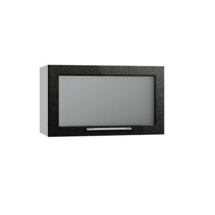 Олива ВПГС 600 Шкаф верхний горизонтальный со стеклом высокий