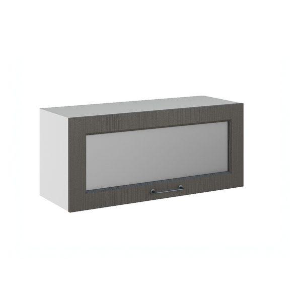 Капри ПГС 800 Шкаф верхний горизонтальный со стеклом