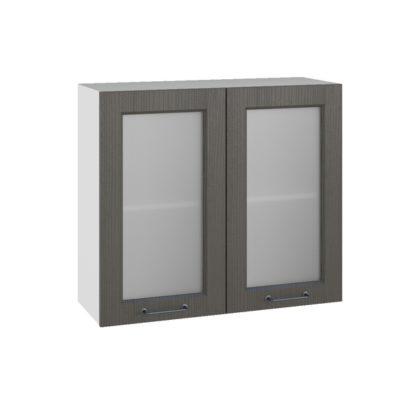 Капри ПС 800 Шкаф верхний со стеклом