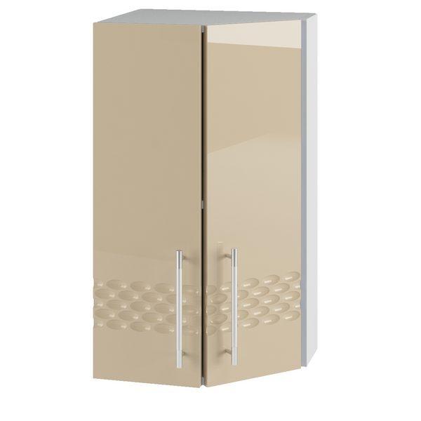 Капля ВПТ 400 Шкаф верхний торцевой угловой высокий