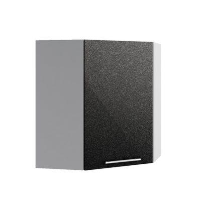 Олива ВПУ 600*600 Шкаф верхний угловой высокий