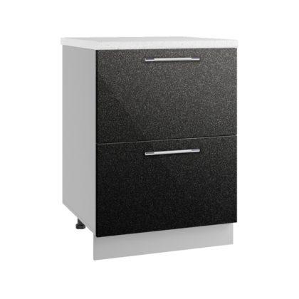 Олива СК2 600 Шкаф нижний комод с двумя ящиками