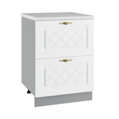 Гранд СК2 600 Шкаф нижний комод с двумя ящиками
