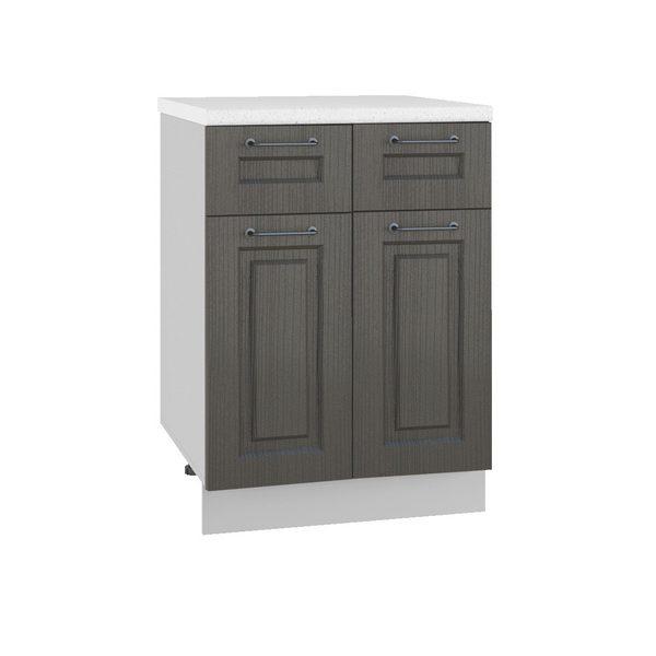 Капри С2Я 600 Шкаф нижний с двумя ящиками