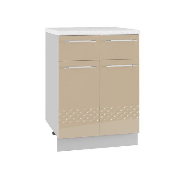 Капля С2Я 600 Шкаф нижний с двумя ящиками