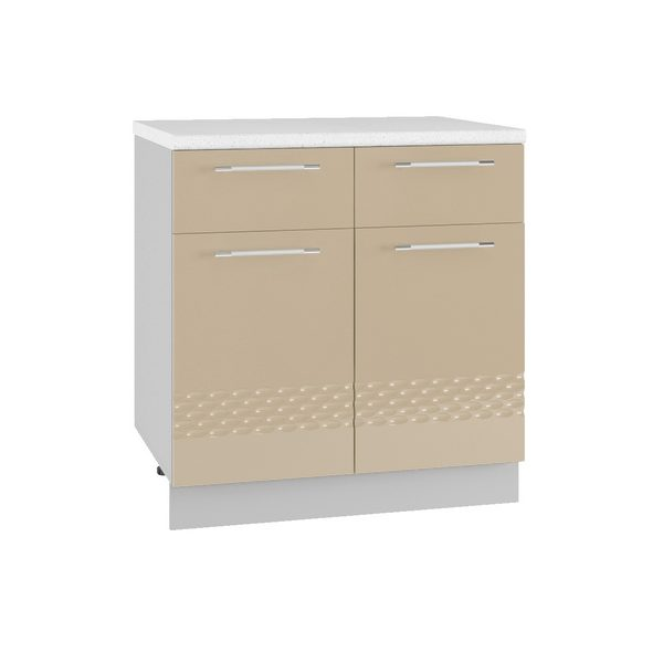 Капля С2Я 800 Шкаф нижний с двумя ящиками