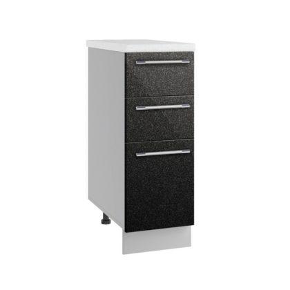 Олива СЯ 300 Шкаф нижний с тремя ящиками