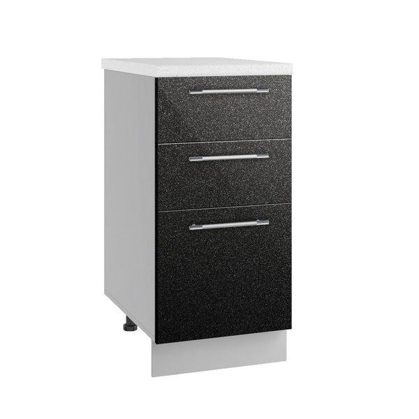 Олива СЯ 400 Шкаф нижний с тремя ящиками