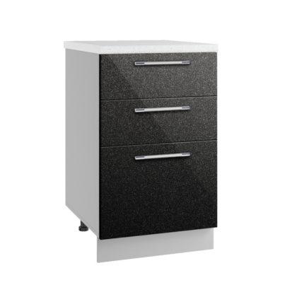 Олива СЯ 500 Шкаф нижний с тремя ящиками