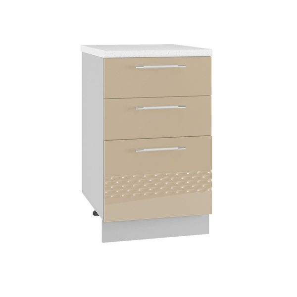 Капля СЯ 500  Шкаф нижний с тремя ящиками