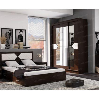 """Модульная спальня """"Николь"""" венге"""