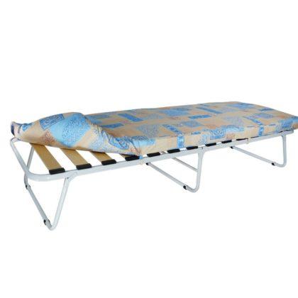 """Кровать раскладная на ламелях с мягким матрасом """"Марфа-М1"""" 1900*700"""