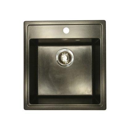 Каменная мойка AxelLux АХ30 Черный 308