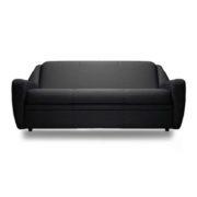 """Офисный диван """"Бостон"""" трехместный, черный"""