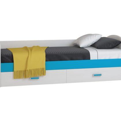 """Кровать-диван с ящиками """"Бирюза"""" Дв024.0_80"""