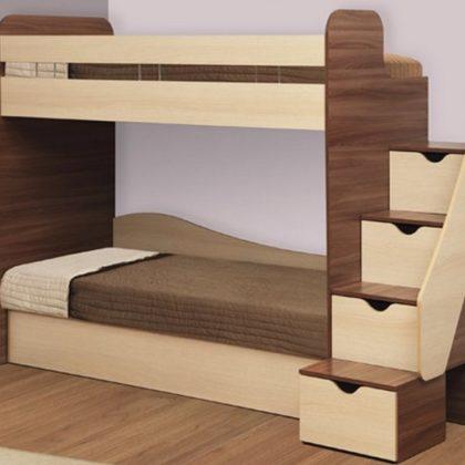 """Кровать двухъярусная с матрасами """"Адель-3"""""""