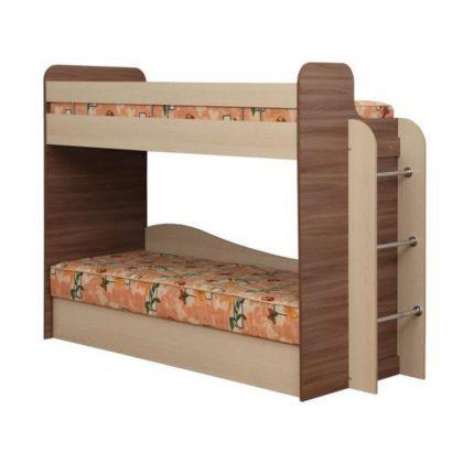 """Кровать двухъярусная с матрасами """"Адель-4"""""""