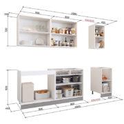 Кухонный гарнитур 2.0 внутр.нап. (Стоун, Мечта, Бостон, Виктория, Яна, Бергамо)