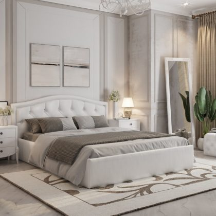 """Кровать двуспальная мягкая """"Верона"""" 1,6 м"""