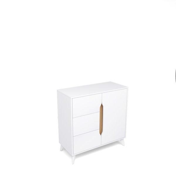 Тумба 3 ящика-1 дверь Палмер